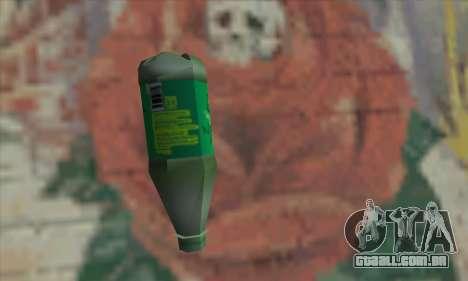 Botol Air Minum para GTA San Andreas segunda tela