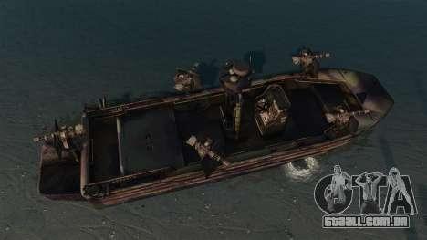 Navy SEALs SOC-R para GTA 4 vista direita