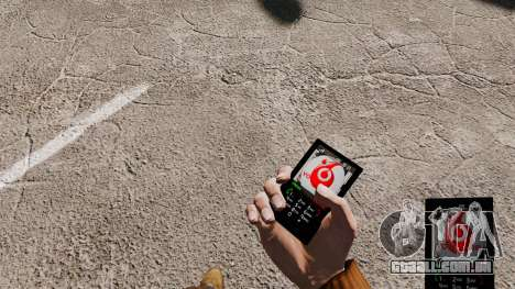 Tema para o seu telemóvel Vodafone para GTA 4