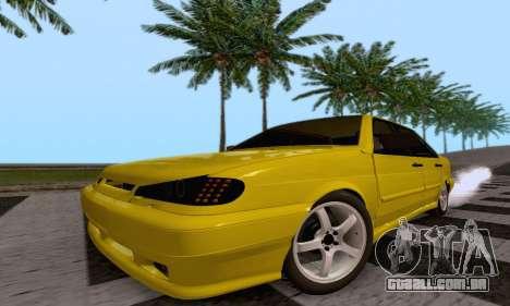 VAZ 2115 Diod para GTA San Andreas vista traseira