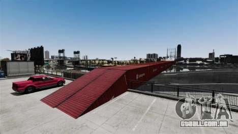 Nova ponte em East island city para GTA 4 por diante tela