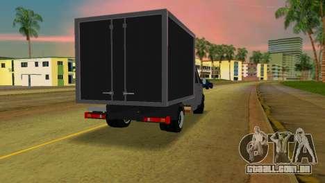 Gazela 33023 para GTA Vice City vista traseira esquerda
