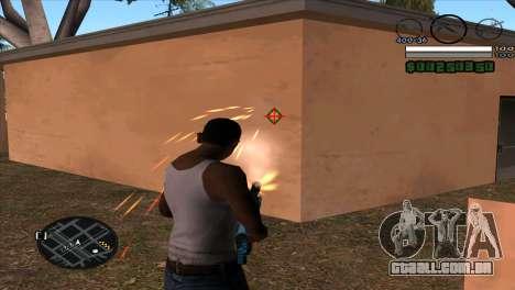 C-HUD by Djet para GTA San Andreas segunda tela