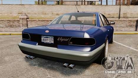 Civil Cruiser para GTA 4 traseira esquerda vista