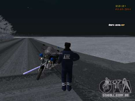 Pak DPS em um formato de inverno para GTA San Andreas décima primeira imagem de tela