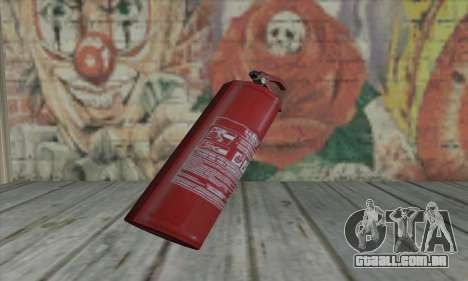 Extintor de incêndio de L4D para GTA San Andreas
