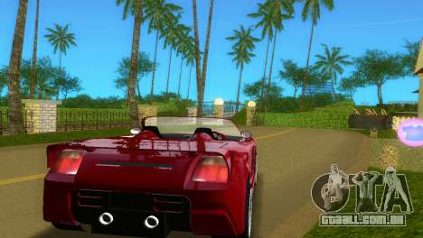 Toyota MR-S Veilside Spider para GTA Vice City vista direita