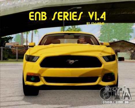 ENBSeries 1.4 para GTA San Andreas