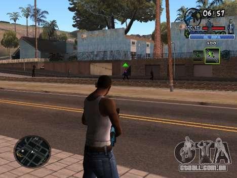 С-HUD Velho Sd para GTA San Andreas segunda tela