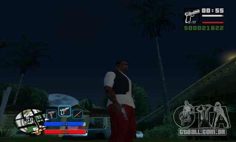C-HUD by Fawkes para GTA San Andreas terceira tela