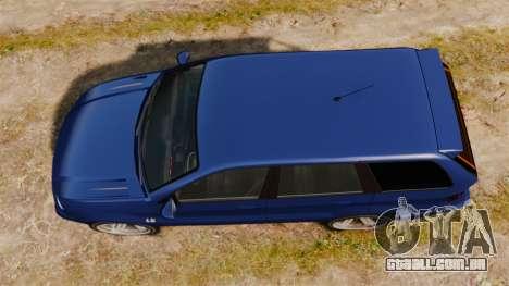 Ubermacht Rebla M5 para GTA 4 vista direita