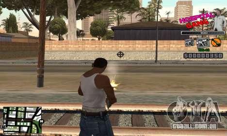 C-HUD Hospital para GTA San Andreas terceira tela