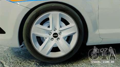 Ford Focus Metropolitan Police [ELS] para GTA 4 vista de volta
