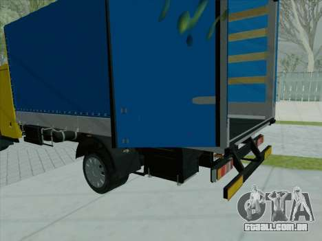 O active painel v 3.2.1 para GTA San Andreas terceira tela