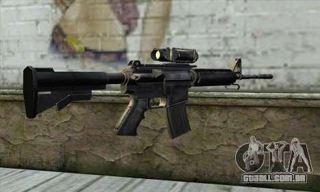 M4A1 Carbine Assault Rifle para GTA San Andreas segunda tela