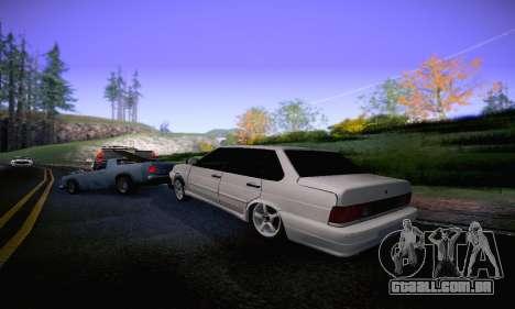 VAZ 2115 Diod para GTA San Andreas vista direita