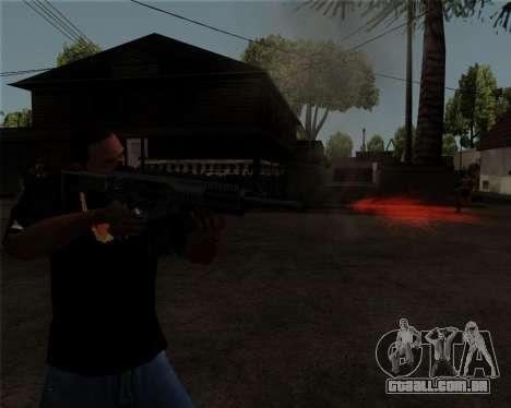 Beretta ARX-160 para GTA San Andreas por diante tela