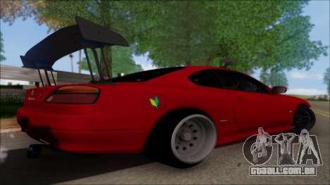 Nissan Silvia S15 V2 para GTA San Andreas esquerda vista