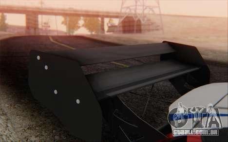 Ford Fiesta Omse HillClimb para GTA San Andreas vista direita