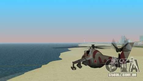 Mi-24 Krokodil para GTA Vice City