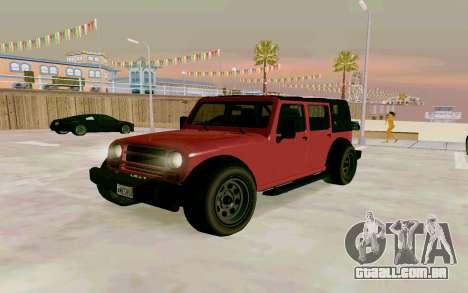 GTA V Mesa para GTA San Andreas