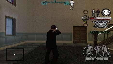 Hud By Tony para GTA San Andreas segunda tela