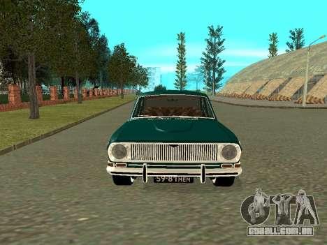 GÁS 24-01 Volga para GTA San Andreas esquerda vista