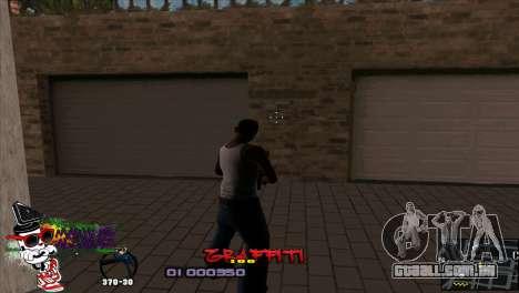 C-HUD Markus para GTA San Andreas segunda tela