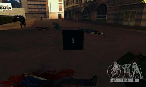 Notebook mod v1.0 para GTA San Andreas sexta tela