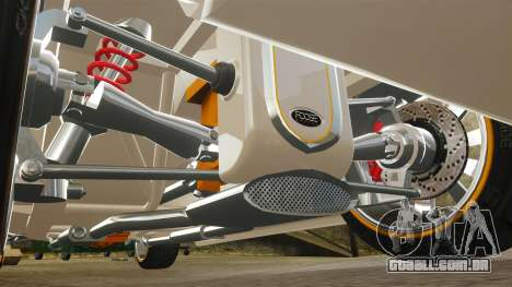 Ford Roadster 1936 Chip Foose 2006 para GTA 4 vista inferior