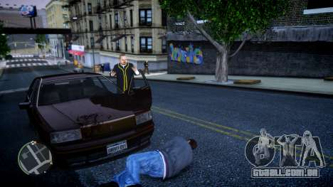 GTA HD Mod para GTA 4 por diante tela