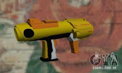 Nerf Gun para GTA San Andreas segunda tela