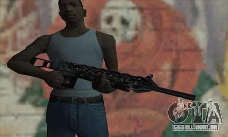 Canhão de Gauss de Stalker para GTA San Andreas terceira tela