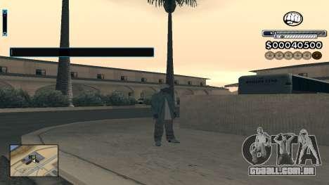 C-HUD v1.0 para GTA San Andreas segunda tela