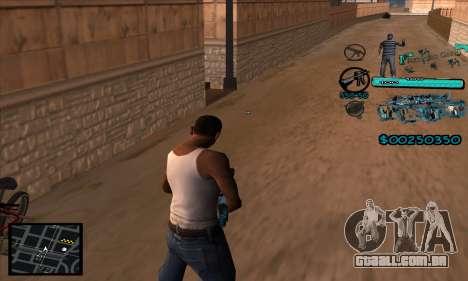 C-HUD Aztecas Gang para GTA San Andreas segunda tela