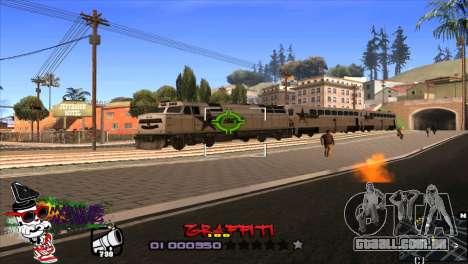 C-HUD Markus para GTA San Andreas terceira tela