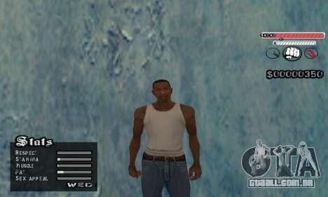C-HUD v2 para GTA San Andreas