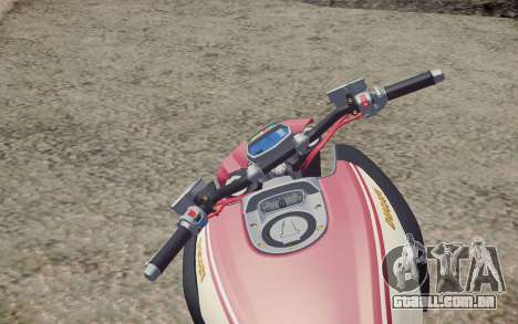 Ducati Diavel Carbon 2011 para GTA San Andreas vista direita
