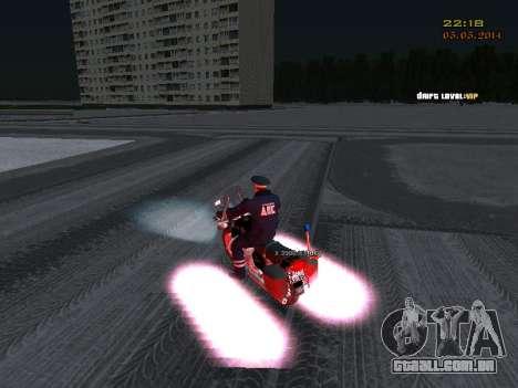 Pak DPS em um formato de inverno para GTA San Andreas sétima tela