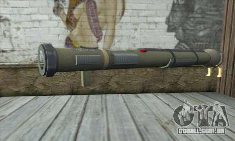 O lançador de foguetes a partir de Pstal 3 para GTA San Andreas