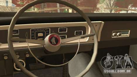 Plymouth Belvedere 2-door Sedan 1965 para GTA San Andreas vista direita
