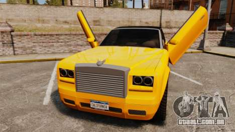 Super Drop Diamond VIP para GTA 4 vista de volta