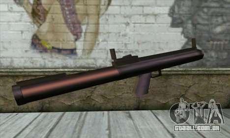M72 para GTA San Andreas segunda tela