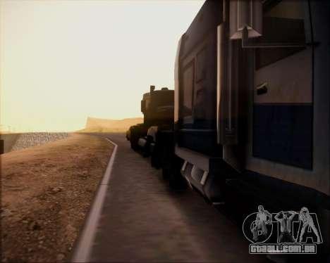 SA Graphics HD v 4.0 para GTA San Andreas segunda tela