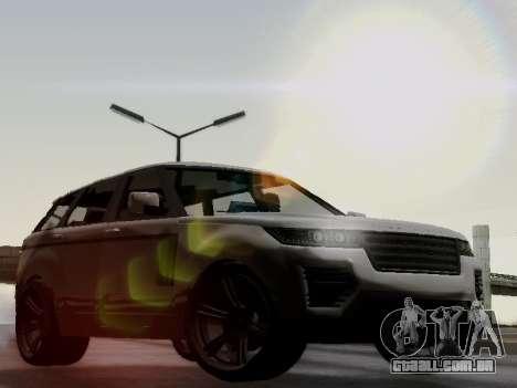 Baller 2 из GTA V para GTA San Andreas vista traseira