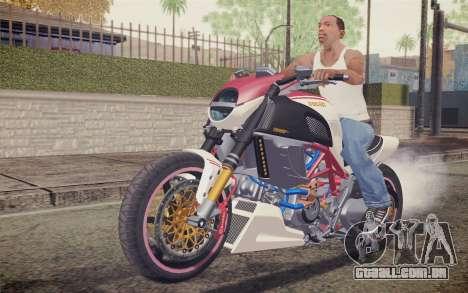 Ducati Diavel Carbon 2011 para GTA San Andreas esquerda vista