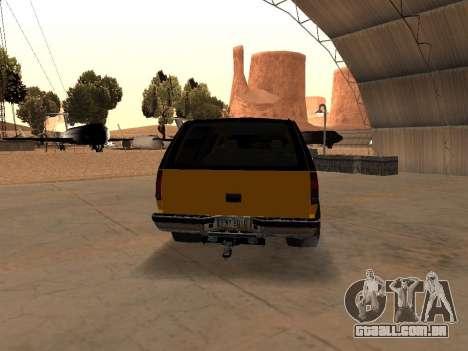 GMC Yukon para GTA San Andreas vista direita