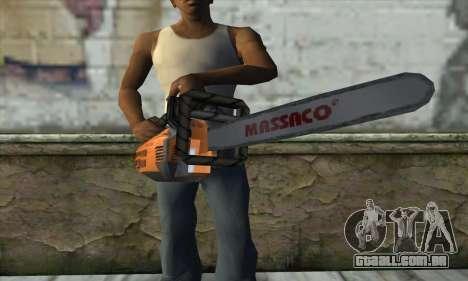 Motosserra para GTA San Andreas terceira tela