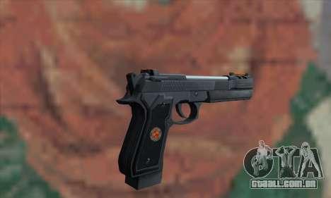 Samurai Edge para GTA San Andreas segunda tela