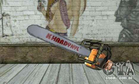 Motosserra para GTA San Andreas